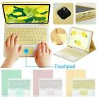 For iPad Air4 10.9 2020 Bluetooth Touchpad Keyboard Leather Case Cover 1 Set