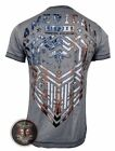 Men's T-Shirt AMERICAN FIGHTER S/S KINGSFORD TEE Premium Athletic MMA, 3D