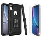 Apple IPhone 11 Case Scratchproof Kickstand/4D Screen Protector Tempered Glass
