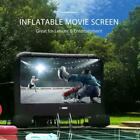 14FT 16FT 20FT Inflatable Movie Projection Screen Outdoor TV Theater Cinema US