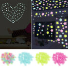 Star Luminous Wall Stickers Glow In The Dark Wall Decal Kids Room Home Decors Uk