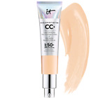 IT Cosmetics C+Color Correcting Full Coverage Cream+SPF50+,1.08oz-Light / Medium