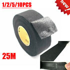 25M Car Adhesive Cloth Fabric Electrical Wiring Harness Loom Insulation Tape