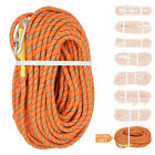 12MM Outdoor Static Climbing Rope Gym Exercise Rock Tree Rappelling Safety Cord