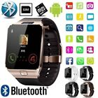 Bluetooth Smart Watch With Camera Phone Mate Gsm Sim For Android Iphone Samsung