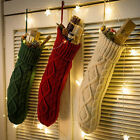 46CM+Cable+Knit+Christmas+Stockings+Candy+Bag+Sock+Ornament+Home+Decoration+%23Y16