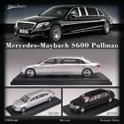 Stance Hunters 1:64 Model Car Benz Maybach S600 Pullman Alloy Dis-cast Metal Toy