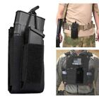 Tactical Open Top Single Mag Pouch Elastic Rifle and Pistol Magazine Pouches US