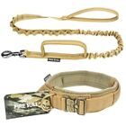 Tactical Dog Collar Leash Large Dog Quick Release Collar Training Pets Supplies