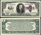 CHICAGO THE WINDY CITY DOLLAR - Lot of 10 Bills