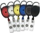 Premier Carabiner Retractable ID Holder Badge Reel