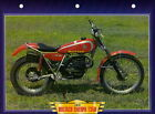 Bultaco+SHERPA+T350+T+350+1975+Motorcycle+BIG+Card+MOTO+Classic+70%27s+vintage