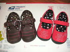 TODDLER GIRLS SHOES NEW JUMPING BEANS MARY JANES COLORS