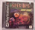 Spec Ops: Covert Assault (PlayStation PS1) Game Brand New, Factory Sealed!