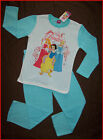 DISNEY PRINCESS - Winter PJs PYJAMAS  sz 2 4 6 or 8 NEW