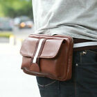 New Fashion Men's Leather Casual Fanny Waist Pack- b001
