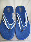 MENS SPOT ON BLUE AND WHITE BEACH AND POOL FLIP FLOPS
