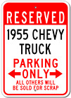 1955 55 CHEVY TRUCK Parking Sign