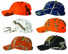 Realtree AP, Snow Camo, Mossy Oak, Blaze Orange, Black Camouflage Hat Kati Cap