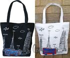 Lovely Fashion Pattern Canvas Tote Shoulder HandBag ha110