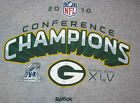 GREENBAY PACKERS CONFERENCE CHAMPS 2010 WOMAN TSHIRT(L)