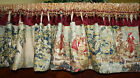 Bosporus Toile ROD POCKET VALANCE You Choose the Color