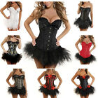 Burlesque Moulin Rouge Lolita FANCY DRESS Corset & Tutu