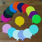 30 - Birthday Die Cuts - Round Balloons - Topper -  Kids - Party Invitations