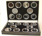 Coin Case Including Capsules for 10 FULL & 10 HALF Sovereigns