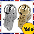 Yale Nickel & Brass Anti-Bump Euro Cylinder uPVC Door Lock Extra Keys