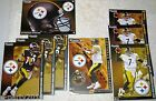 NFL Pittsburgh Steelers AFC North FATHEAD Tradeables ~ collectible wall decal
