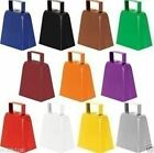 """4"""" Metal Cowbell Cow Bell Sports Toy Instrument Noisemaker NEW Noise Maker"""