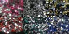 750 x 4mm Mixed DIAMANTE Flat Back Rhinestone Gems Stick On With Glue!  CRAFT