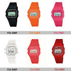 F11 Sports Unisex Alarm Chronograp Digital Display Resin Strap Watch Orange Pink