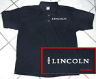 Black Polo Shirt, Classic Auto, Motor Sports, Lincoln, 100 Cotton, S - 5XL