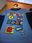 Boys Dinosaur movie long sleeve top, Blue or red, Brand new with tags