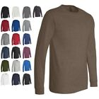 Bella Canvas - Men's Long Sleeve Jersey Tee, Cotton T-Shirt, Filmore, 3501