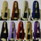 28 Inch Free Shipping Long 70cm Hair Straight No-Bangs Cosplay Wigs Synthetic 82