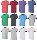 Anvil Mens Size S-3XL NEW 2 Tone Cotton Ringer Contrast T-Shirt Team Sport 923