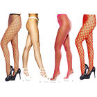 LADIES SEXY FENCE NET FISHNET TIGHTS WOMENS WHALE NET TIGHTS ONE SIZE 3 COLOURS