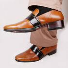 Belivus Band Point Genuine Leather Handmade Loafer Men's Shoes BES037_BROWN