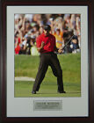 Tiger Woods Fist Pump 2008 US Open Framed Photo 11x14 OR 16x20