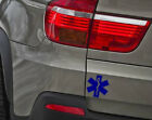 Star of Life with Rod of Asclepius used as the symbol of medical Wall Stickers