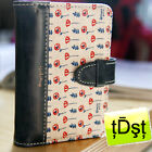 [Monopoly] Summer Flower Card Holder Credit Card Case MON4101BL