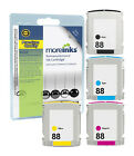 4 Remanufactured 88XL / 88 Ink Cartridges for HP Officejet Printers - Multipack