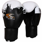 Rex Leather Boxing Gloves Fight Punch Bag MMA Muay Pads Kick Thai Grappling UFC