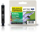 Jettec Remanufactured HP 364 Photo Black Ink Cartridge for Deskjet D5400 & more