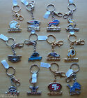 NFL Metal Keychain Fob Team Name & Logo Official licensed ( ALL TEAM )