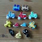 Novelty Buttons - Boy's Toys - Children - Baby - Knitting - Sewing & Cardmaking