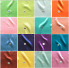 SHINY STRETCH SATIN BRIDAL FABRIC WEDDING TABLE CLOTH DRESS DRAPERY STUDIO 17YDS